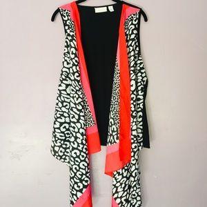 🌺Chico's open vest size 1
